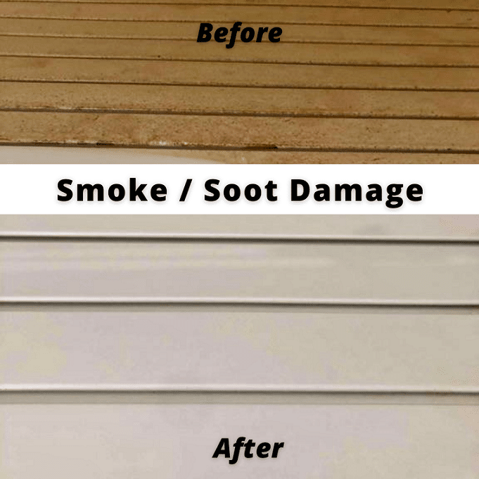 smoke and soot damage before and after photos