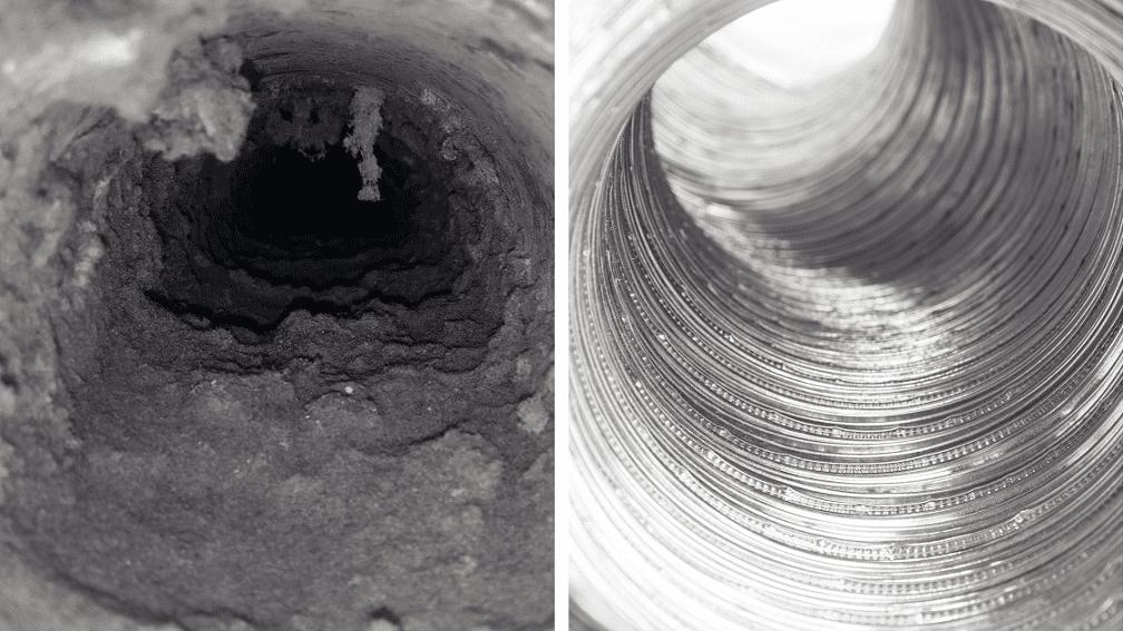 dirty versus clean vents